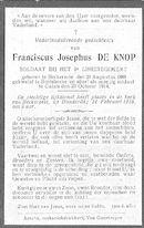 Franciscus-Josephus De Knop