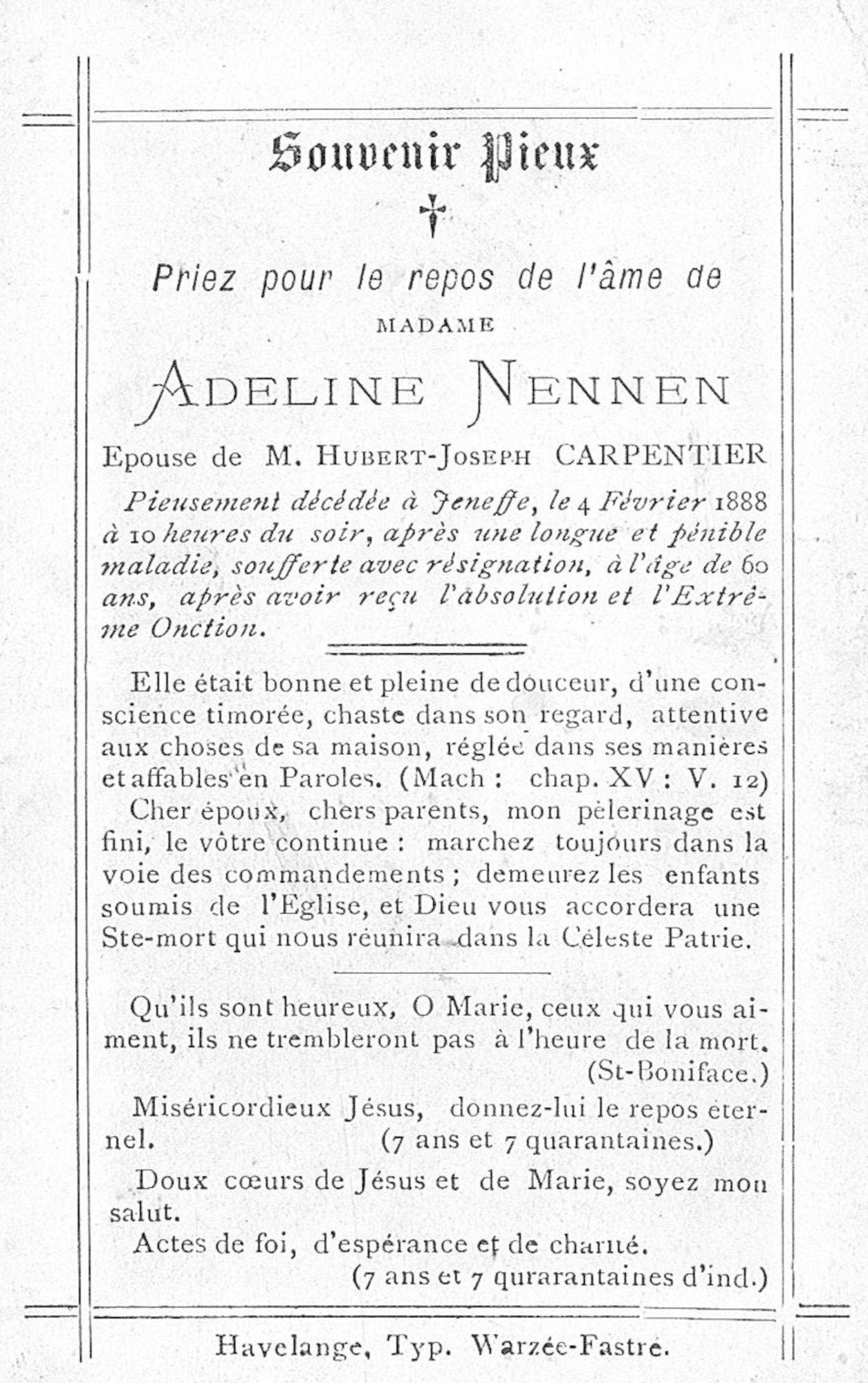 Adeline Nennen