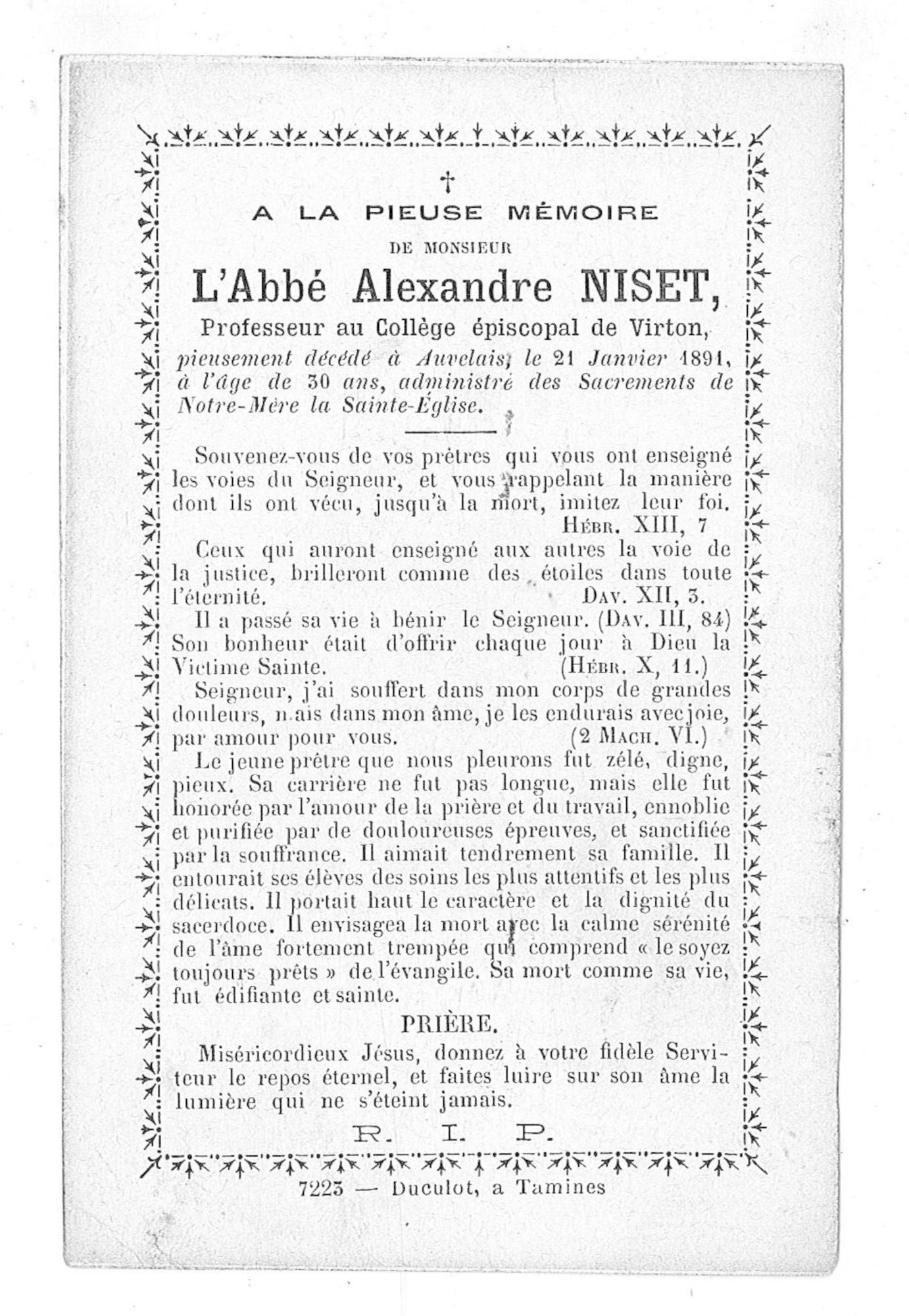 Alexandre Niset