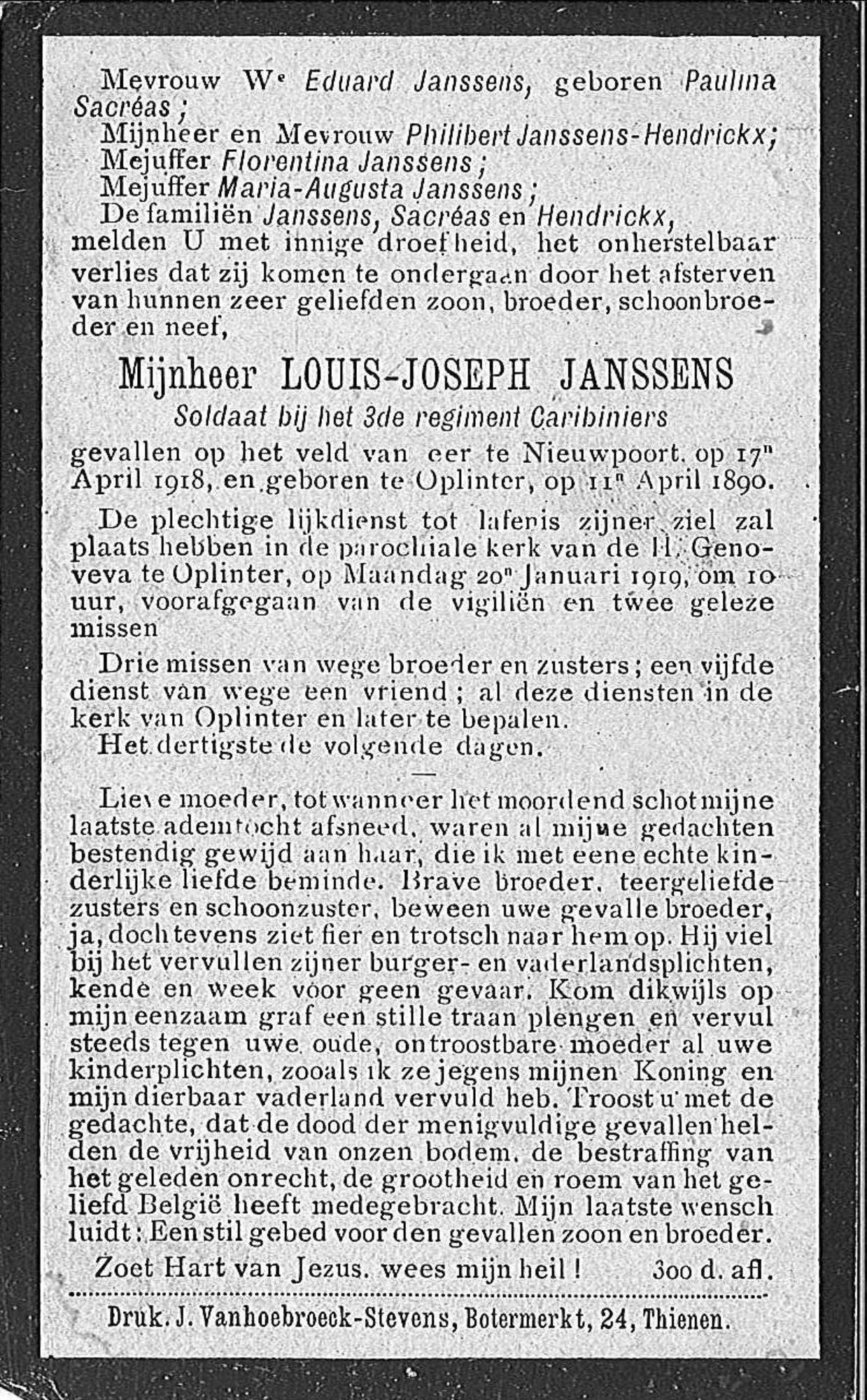 Louis-Joseph Janssens