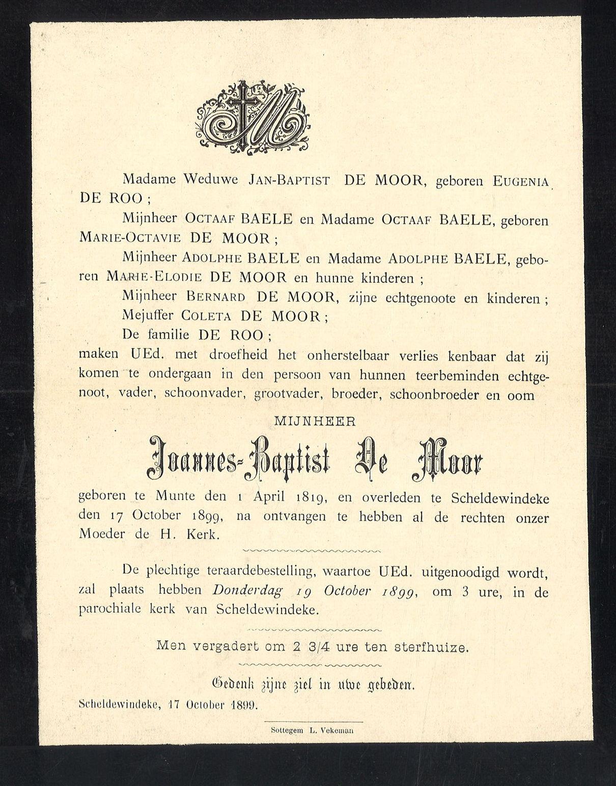Joannes-Baptist De Moor