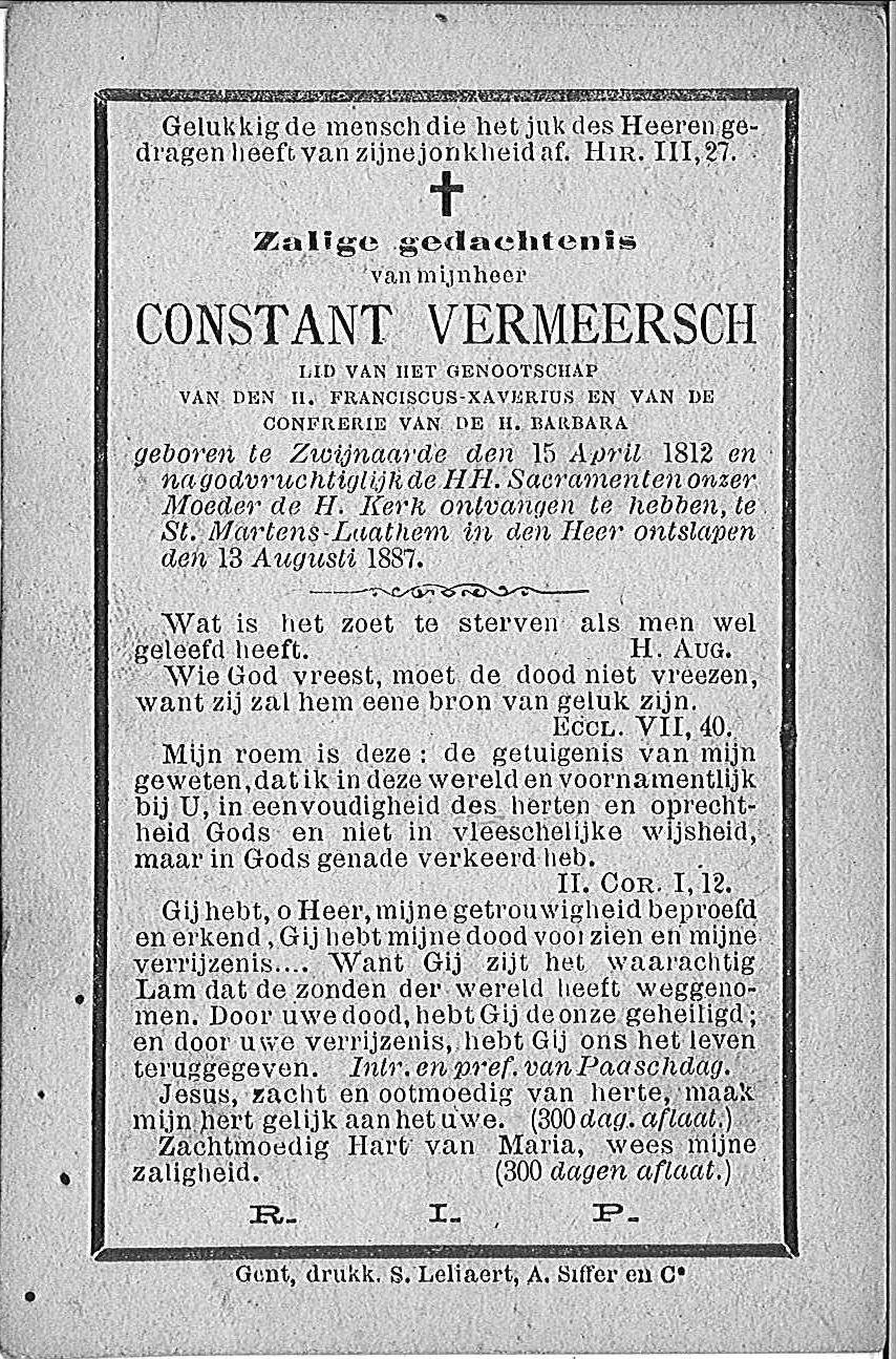 Constant Vermeersch