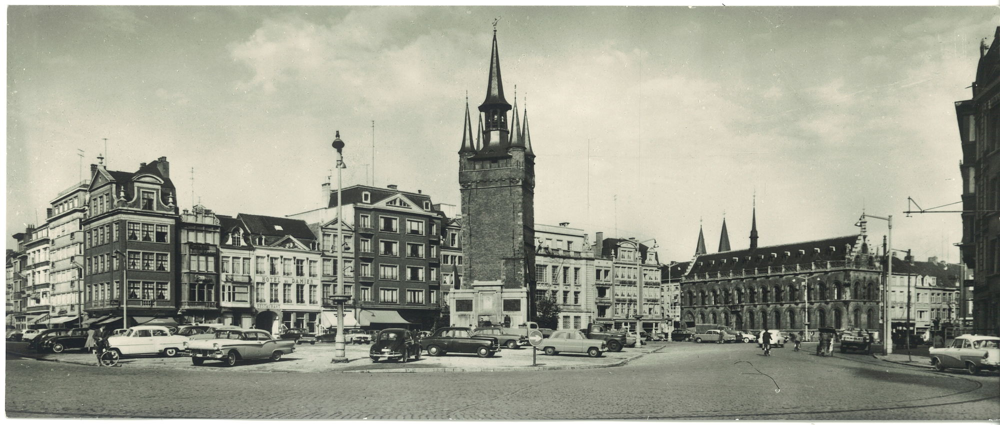 Grote Markt panorama