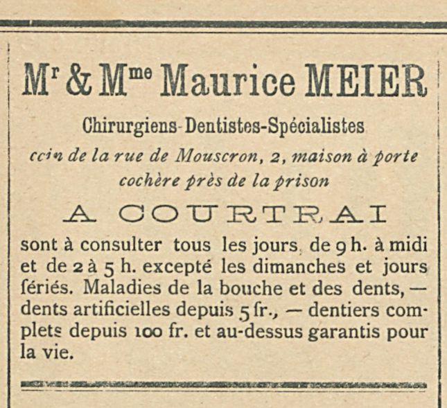 Mr & Mme Maurice MEIER