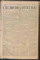 L'echo De Courtrai 1894-03-11 p1