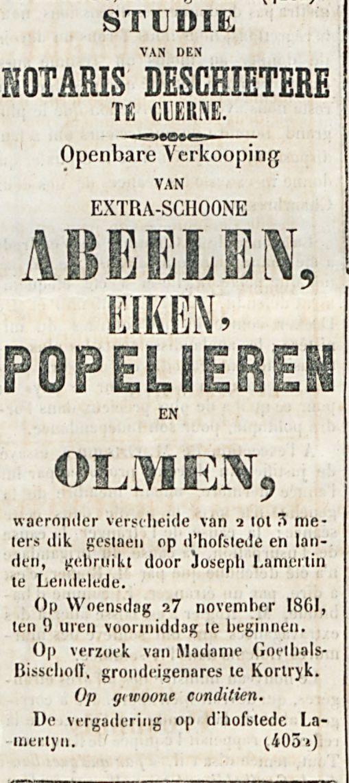 ABEELLEN-EIKEN, POPELIEREN