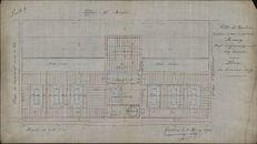 Bouwplannen van de (nieuwe) tekenschool, 1860-1929