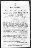 Obert de Thieusies Valentine-Marie-Joséphine-Félicie-Henriette