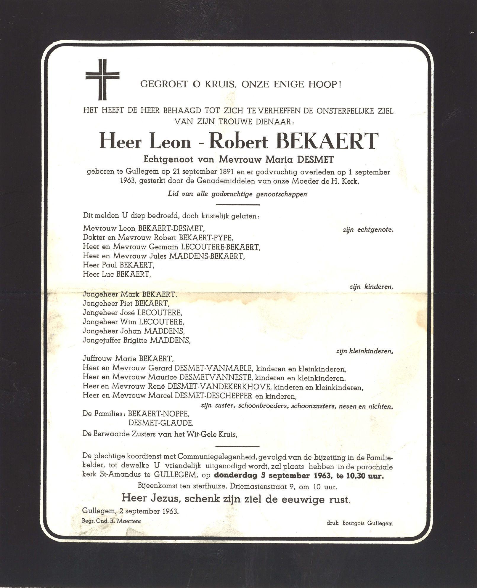 Leon-Robert Bekaert