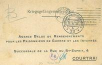 Postzending 1918