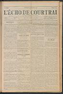L'echo De Courtrai 1911-11-19 p1