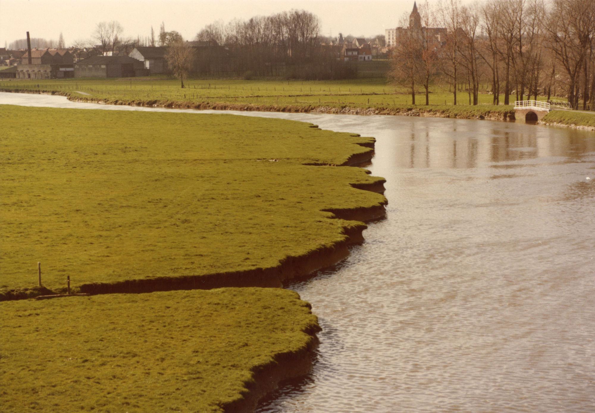 Leie tussen Marke en Wevelgem 1981
