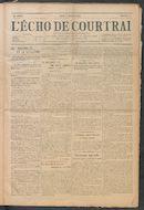 L'echo De Courtrai 1914-01-08