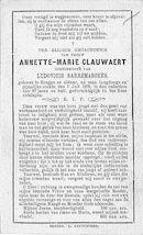 Annette Marie Clauwaert