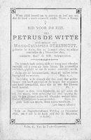 Petrus De Witte