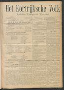 Het Kortrijksche Volk 1908-06-14 p1