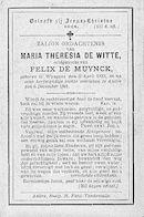 Maria Theresia De Witte