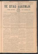 De Stad Kortrijk 1909-12-04 p1