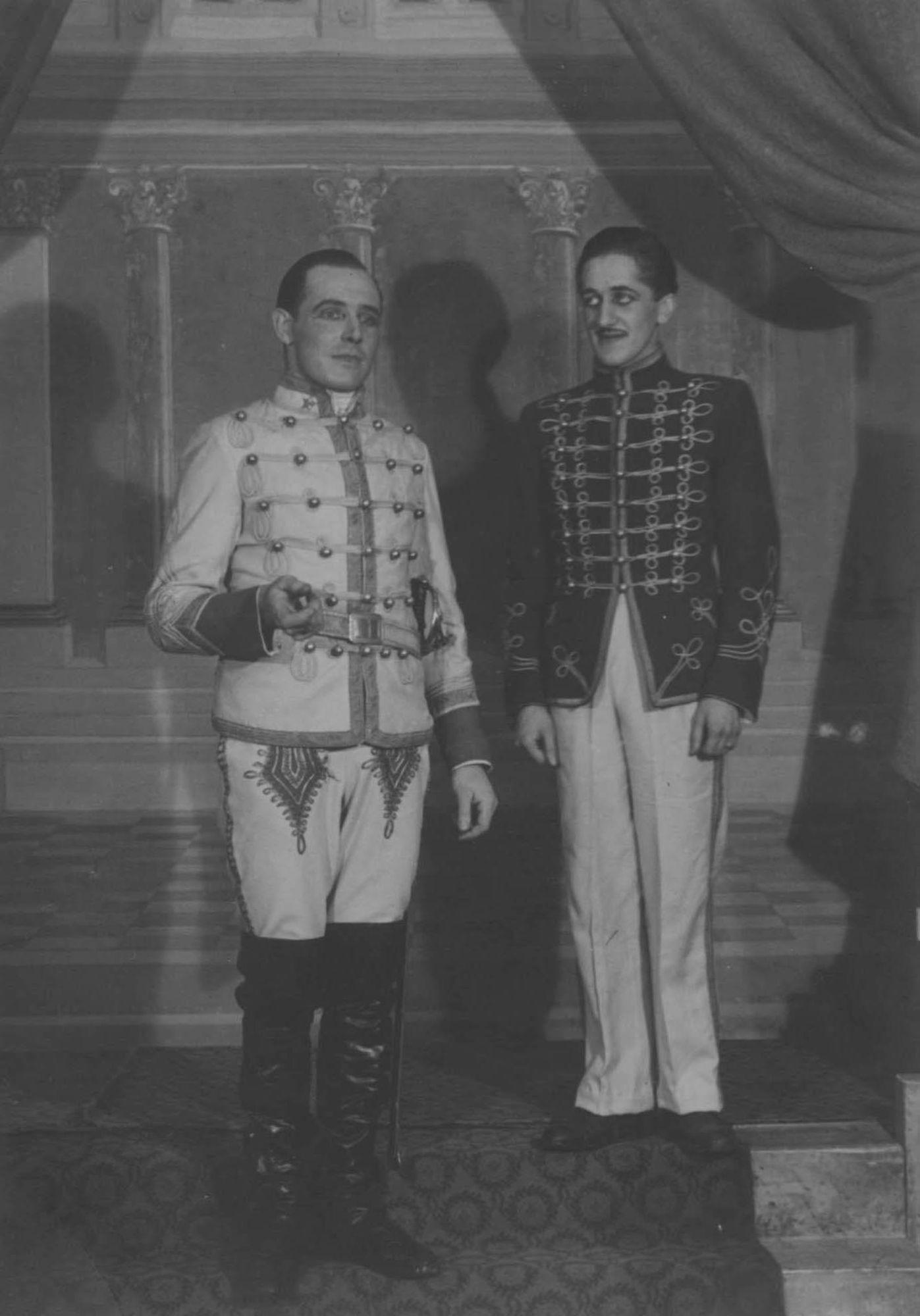 Kortrijks Lyrisch Toneel in 1945