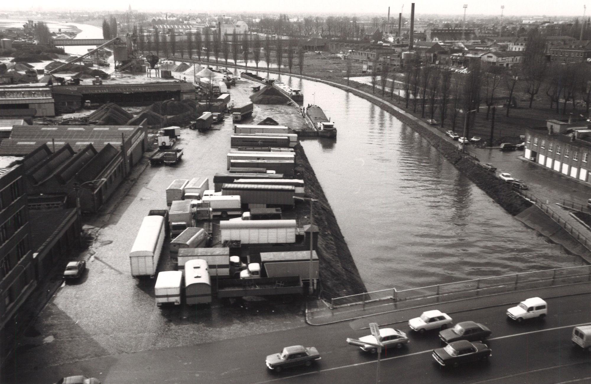 Kortrijk Haven 1975