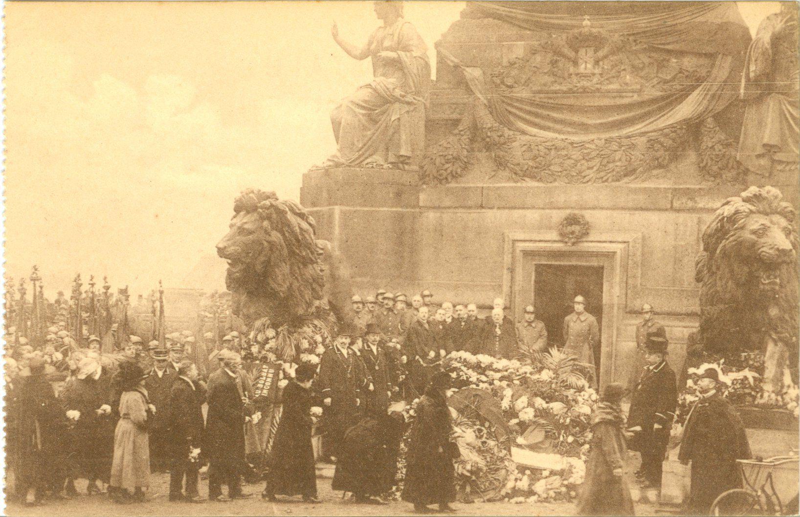 Westflandrica - het graf van de onbekende soldaat in Brussel