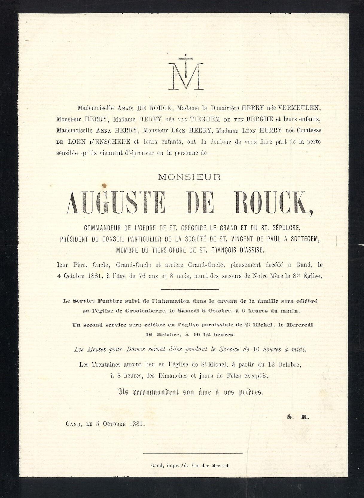 Auguste De Rouck
