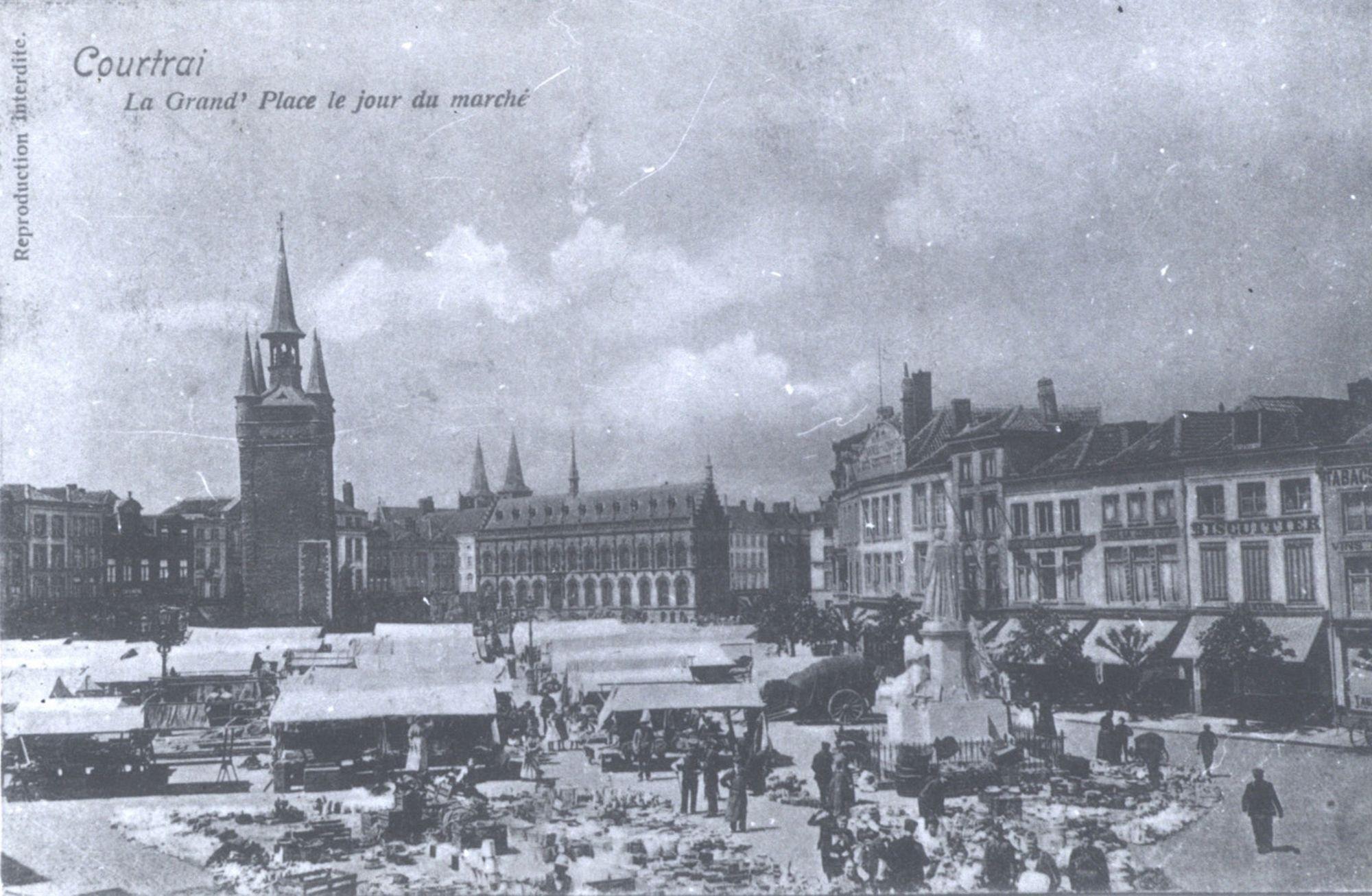 Marktdag op de Grote Markt