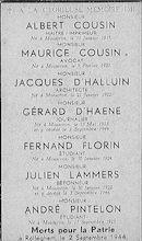 Gesneuvelden 1940-1945 te Rollegem