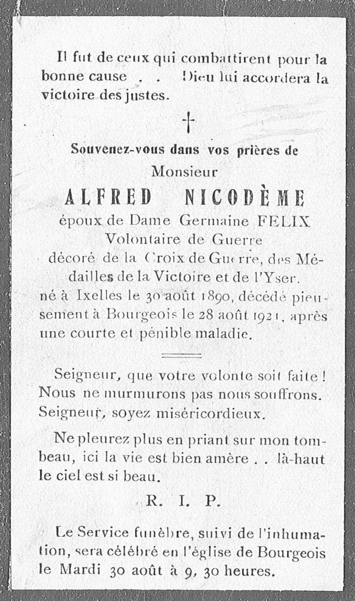 Alfred Nicodème