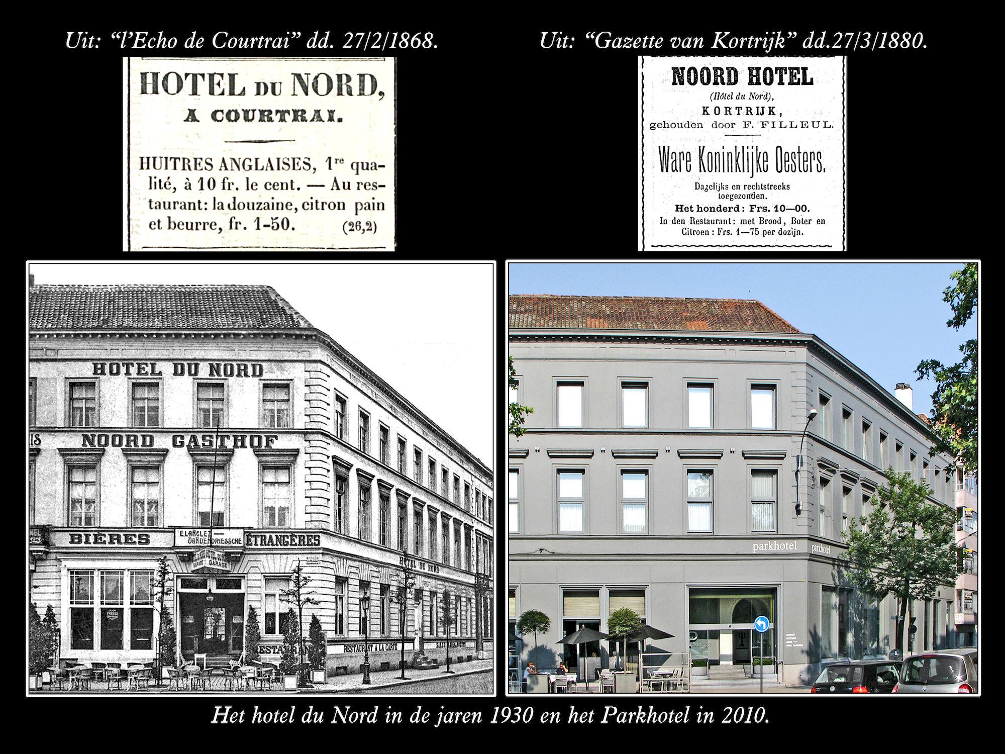 Stationplein jaren 1930 en  2010