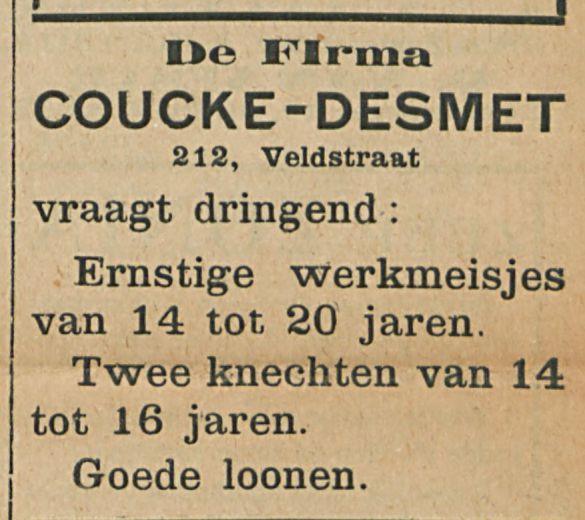 COUCKE DESMET