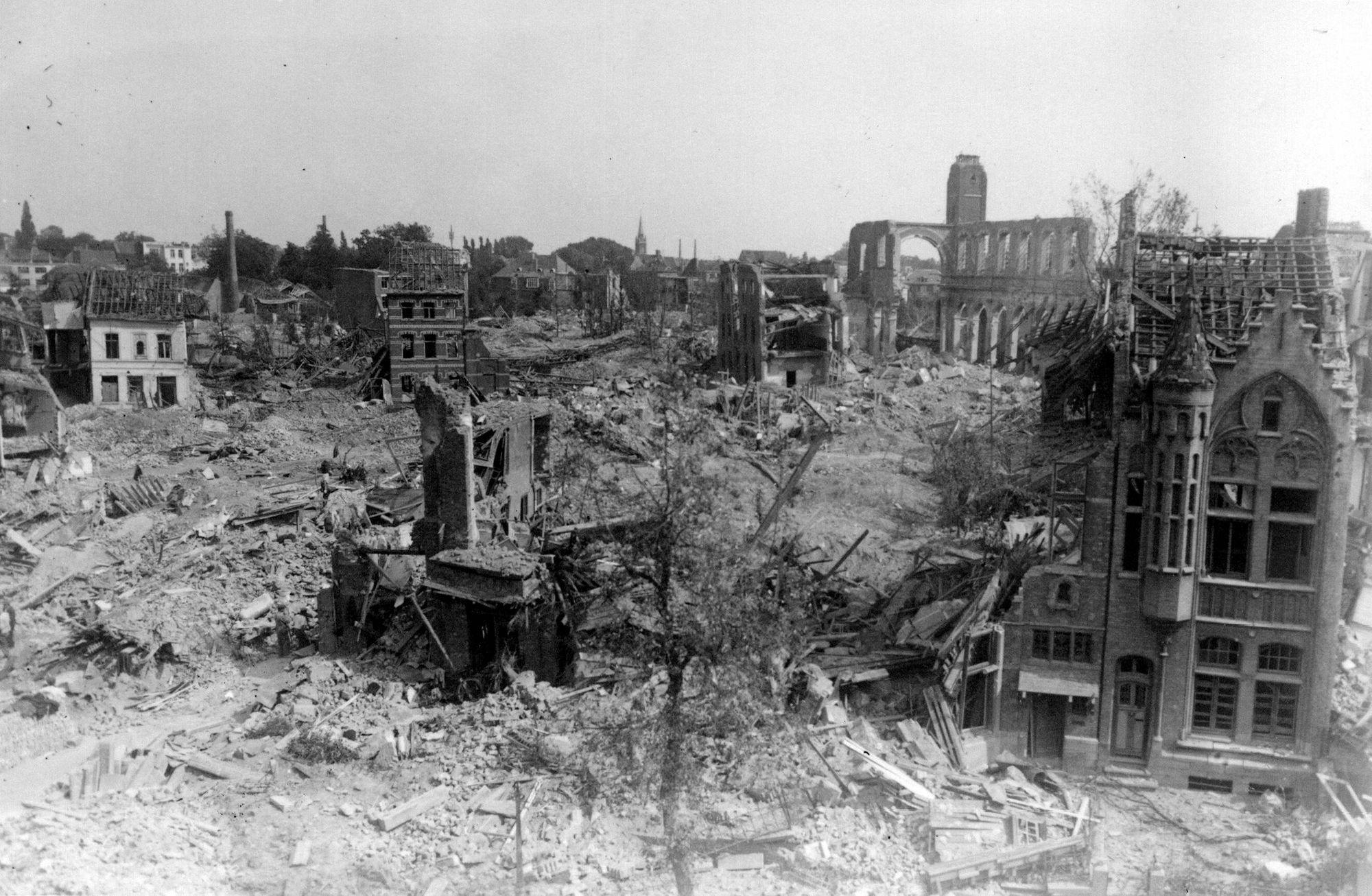 Bombardement Minister Vanden Peereboomlaan 21 juli 1944