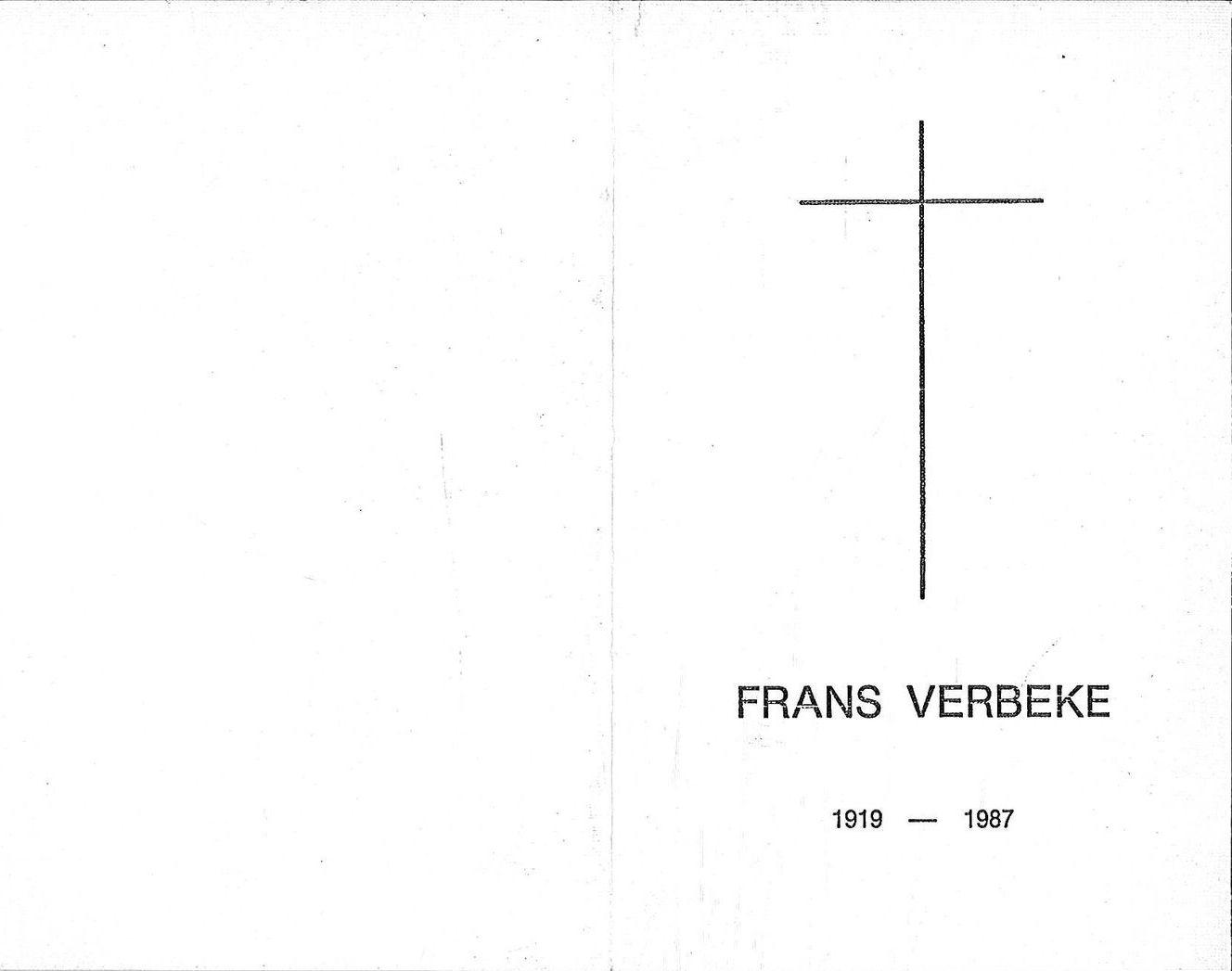 Frans Verbeke