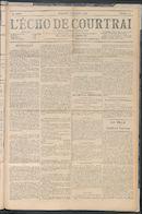 L'echo De Courtrai 1909-11-21