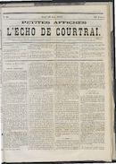 L'echo De Courtrai 1873-06-26 p1