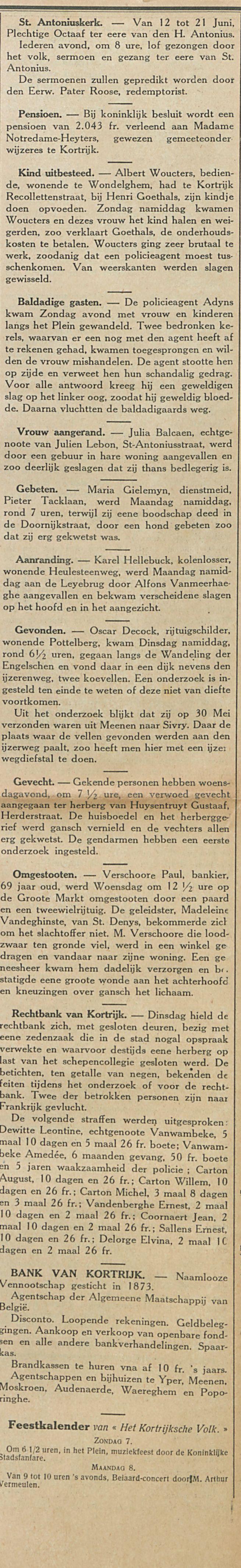 Nieuws van Kortrijk-1