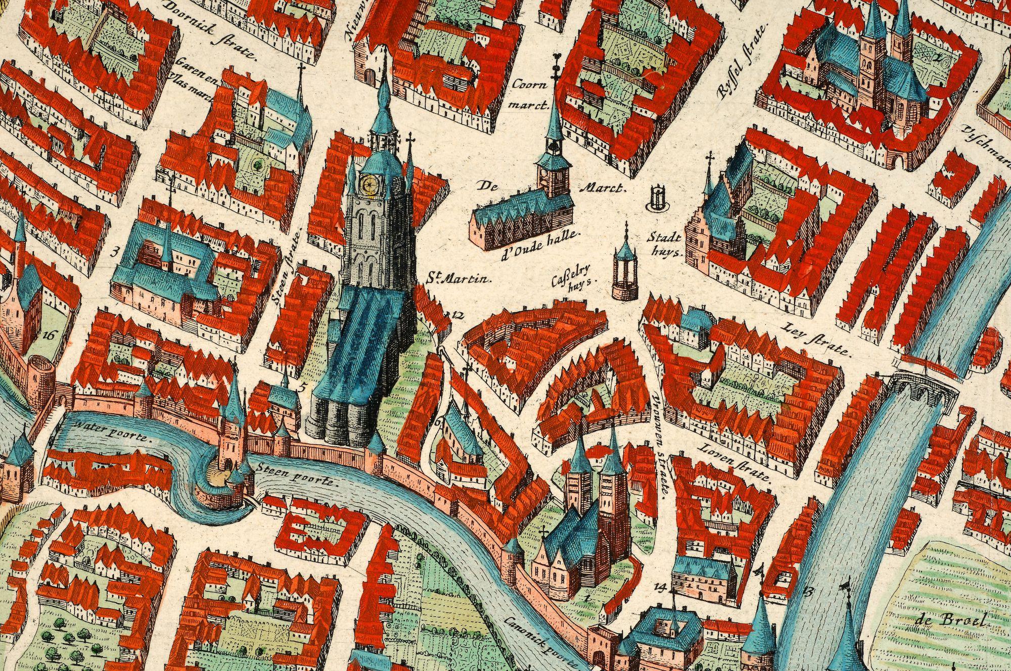 Stadskruis op de Grote Markt te Kortrijk 1560