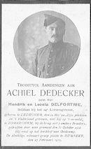 Achiel Dedecker