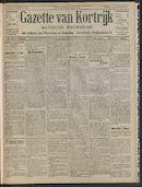Gazette Van Kortrijk 1908-10-11 p1