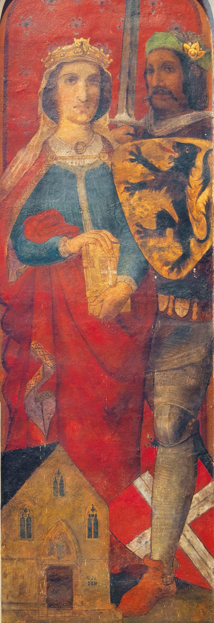 1237 - 1244 Johanna Van Constantinopel en Thomas van Savoye