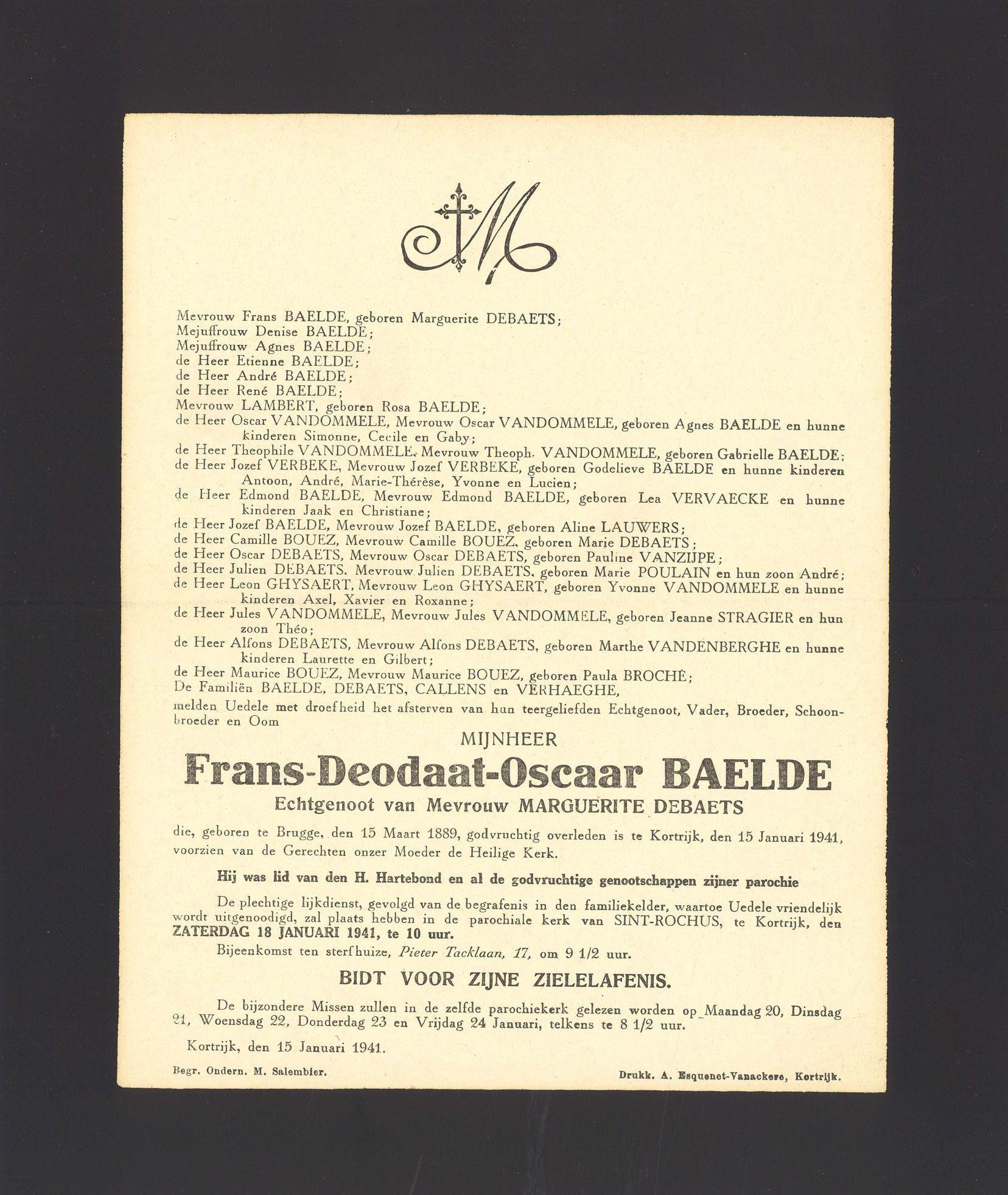 Frans-Deodaat-Oscaar Baelde