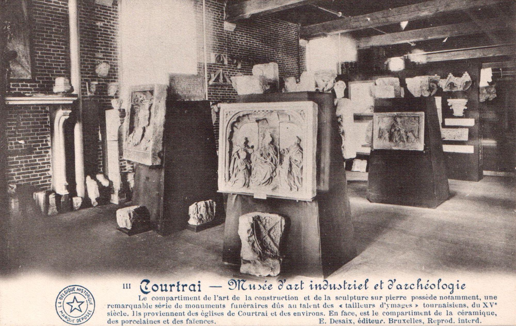 Interieur voormalig museum