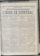 L'echo De Courtrai 1868-03-20