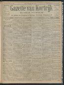 Gazette Van Kortrijk 1908-06-25 p1