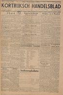 Kortrijksch Handelsblad 3 januari 1945 Nr1 p1
