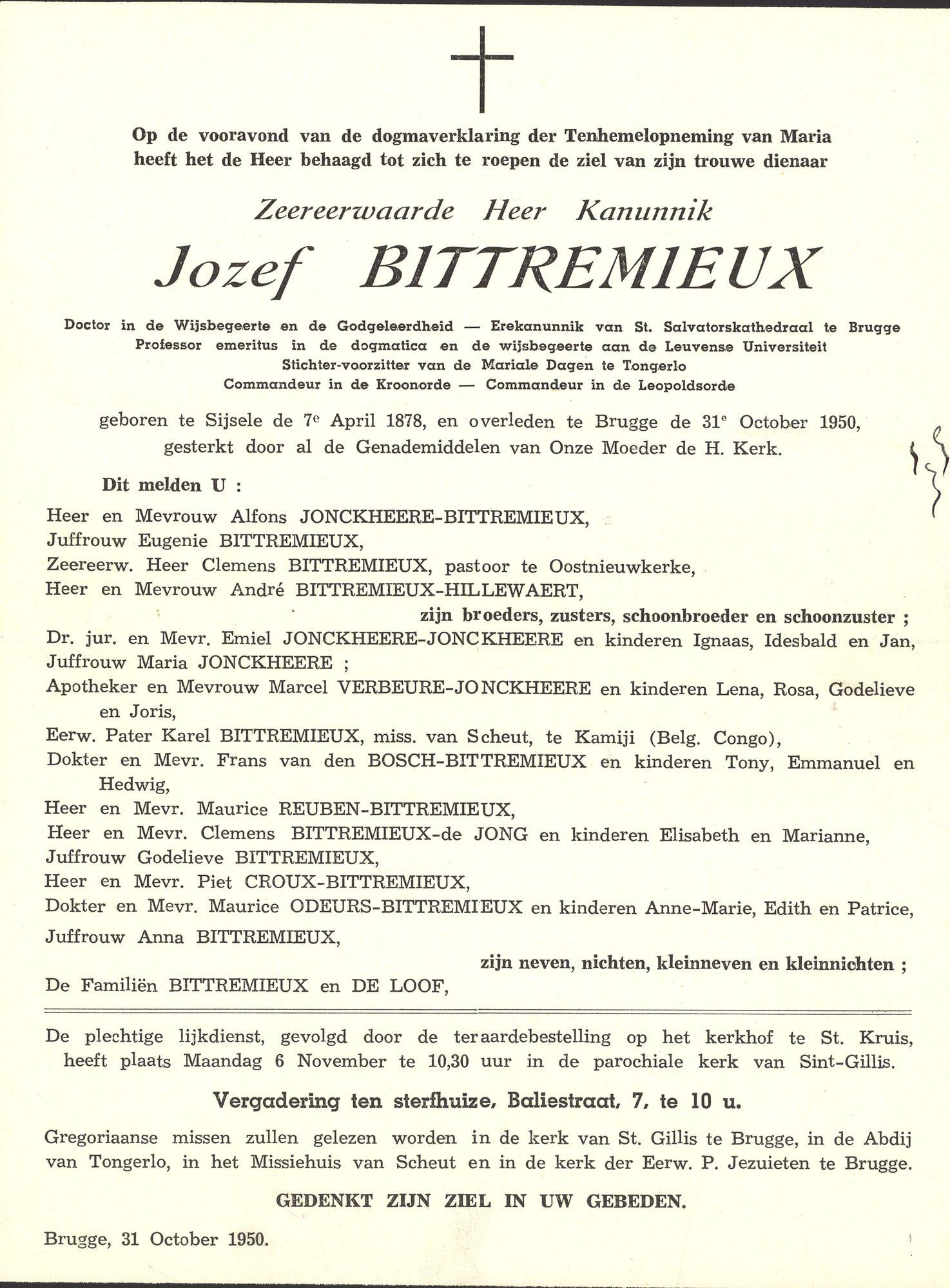 Jozef Bittremieux