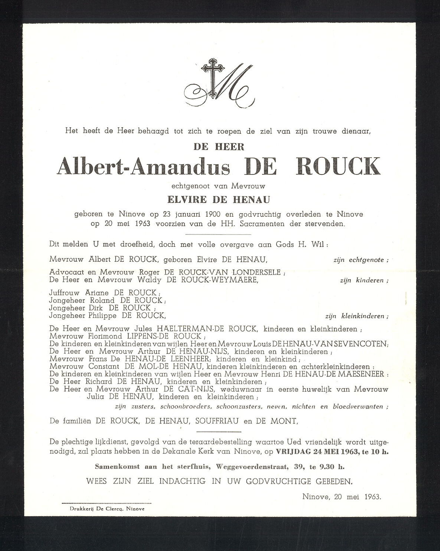 Albert-Amandus De Rouck