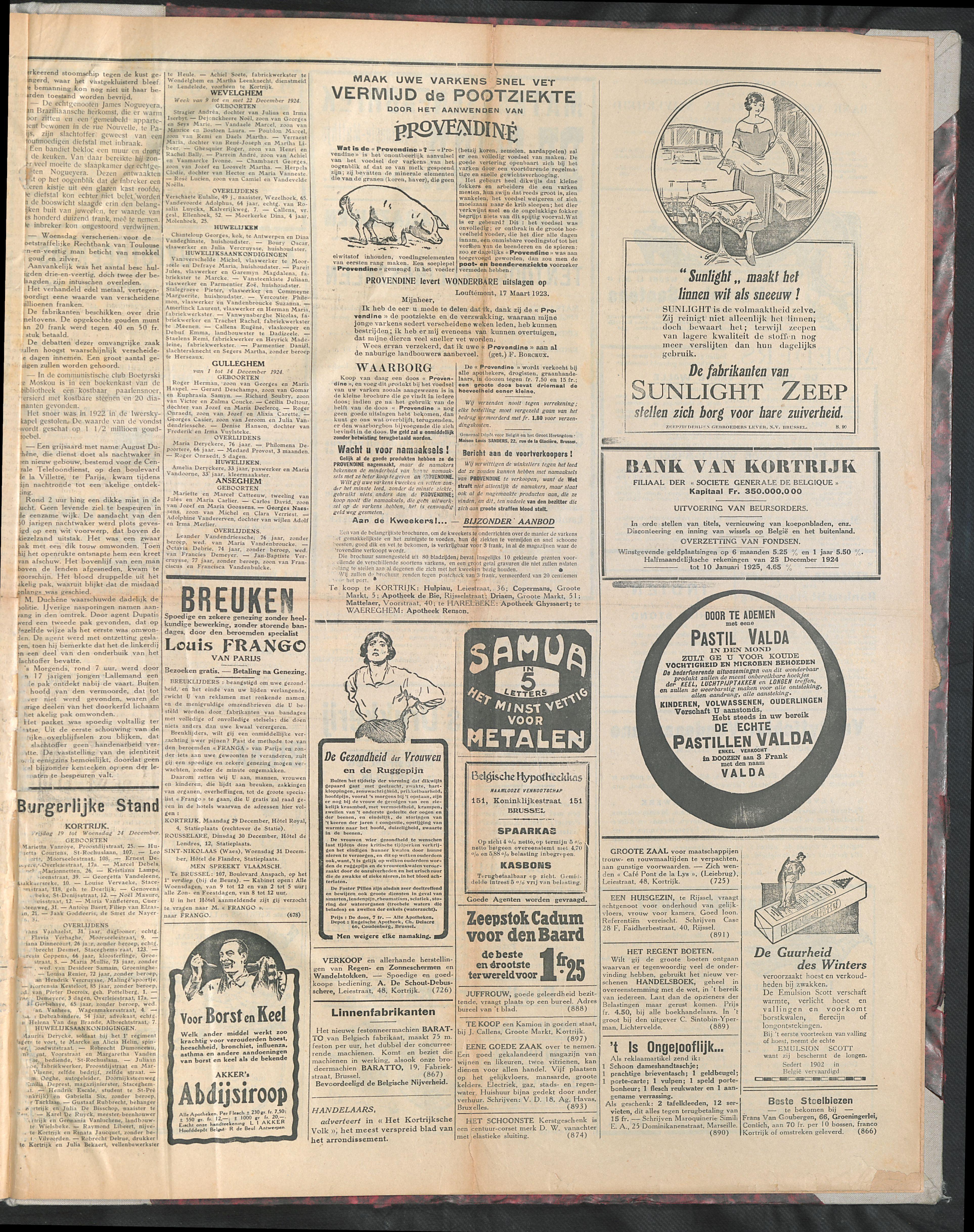 Het Kortrijksche Volk 1924-12-28 p3