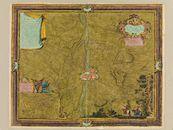 Westflandrica - Kortrijk, kaart van de stad