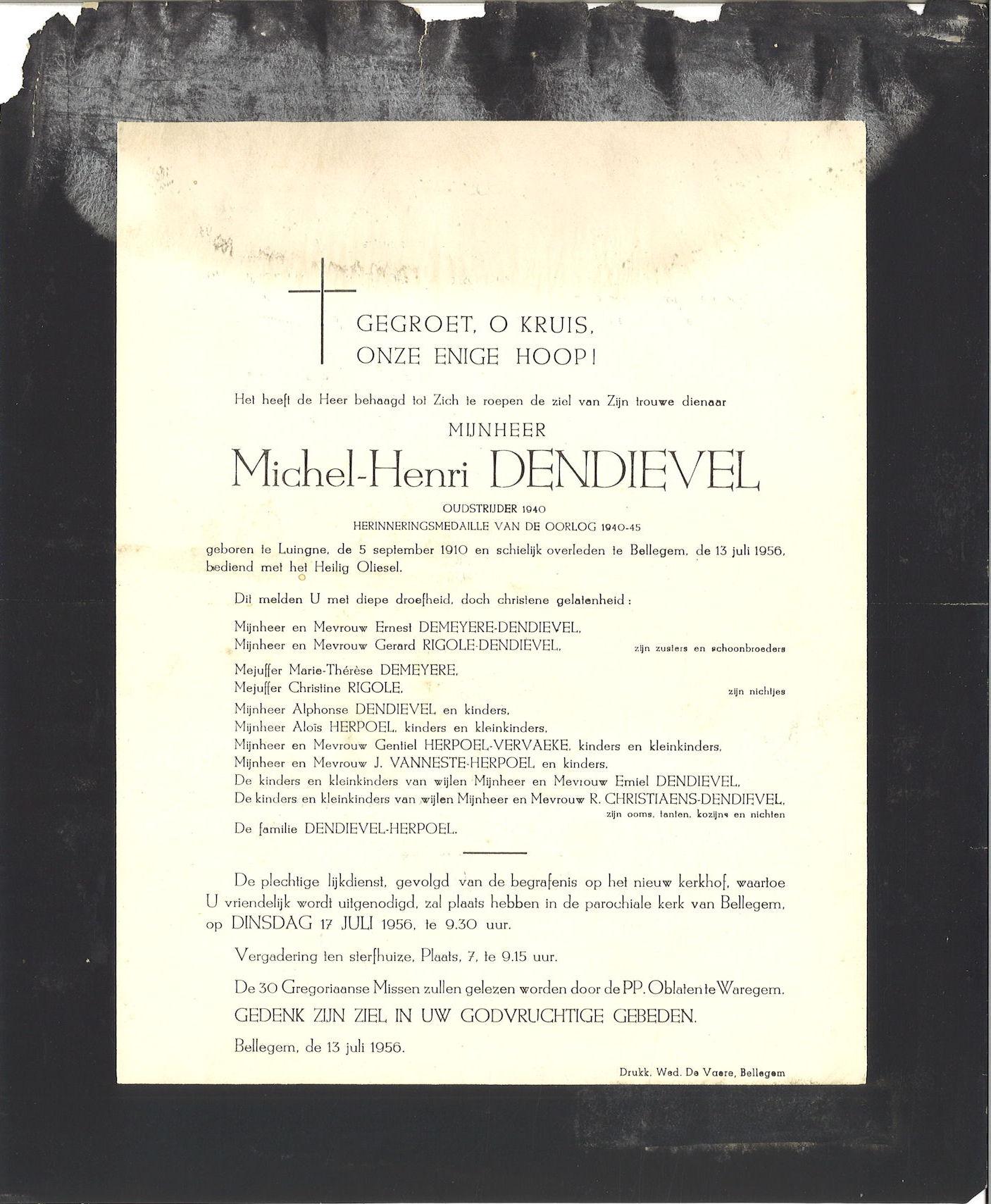 Michel-Henri Dendievel